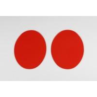 Portanumeri ovali laterali universali -2 pezzi- (dal 1970) - ME08048
