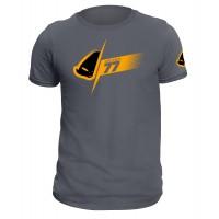 T-shirt grigia realizzata in cotone 100% - MG04463