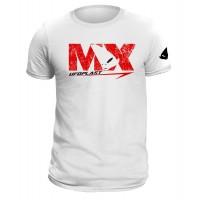 T-shirt bianca realizzata in cotone 100% - MG04461