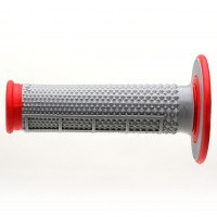 Grip tapered dual compound red - REG163