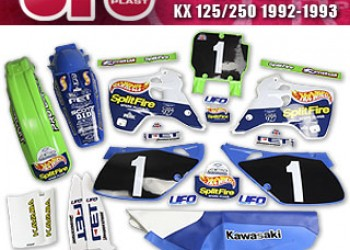 KIT COMPLETO KAWASAKI Hot Wheels KX 125/250 1992-1993