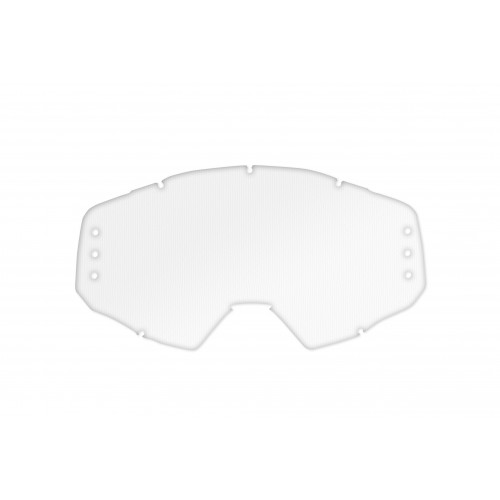 Clear lens with roll off's holes for EPSILON goggle - LE02210