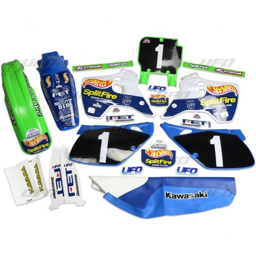 KIT COMPLETO KAWASAKI Hot Wheels KX 125/250 1992-1993 - KITKAWASAKI210
