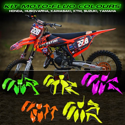 FLUO OFF-ROAD PLASTIC