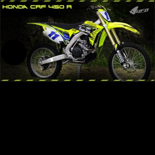 NEON YELLOW PLASTIC FOR HONDA CRF 450R